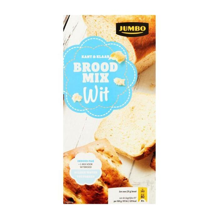 Jumbo Brood Mix Wit Kant & Klaar 500g (500g)