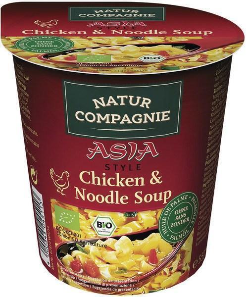 Chicken noodle soep instant (55g)