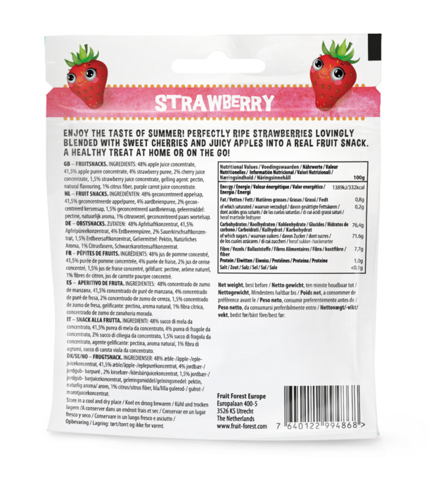 Fruit Forest Strawberry 30g (30g)