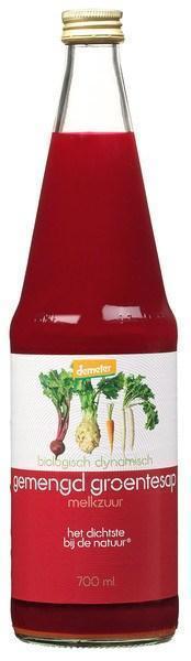 Gemengd groentesap (glas, 0.7L)