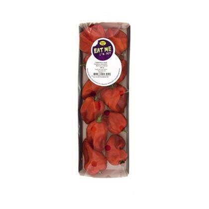 Habanero peper rood