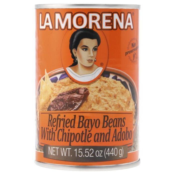 La Morena Bayo bonenspread met chipotle en adobo (440g)