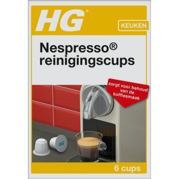 HG Reinigingscups nespresso (6 × 3g)