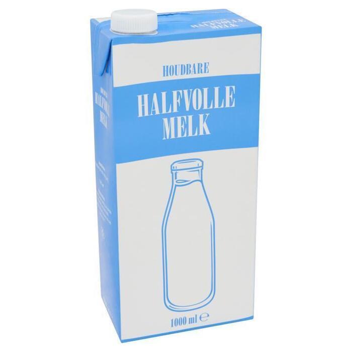 Halvolle Melk (pak, 1L)
