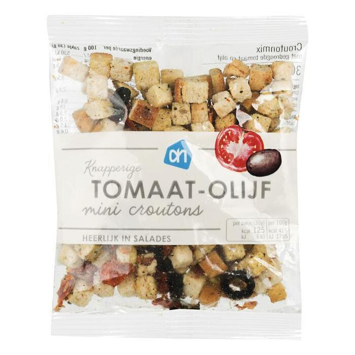 Mini salade croutonmix zontomaat-olijf (30g)