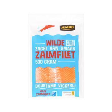 Jumbo Wilde Zalmfilet 500 g (500g)