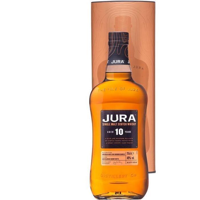 Isle of Jura Single malt whisky 10 years (rol, 70 × 0.7L)