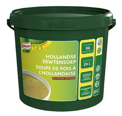 Knorr Hollandse Erwtensoep 2.76KG 1x (2.76kg)
