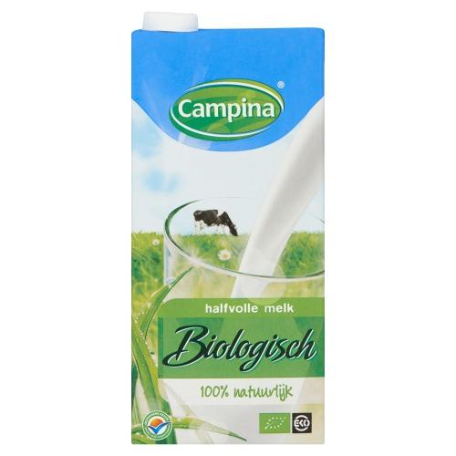 Halfvolle melk  Biologisch UHT (pak, 1L)