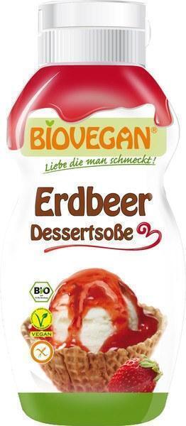 Aardbeien dessertsaus (240g)
