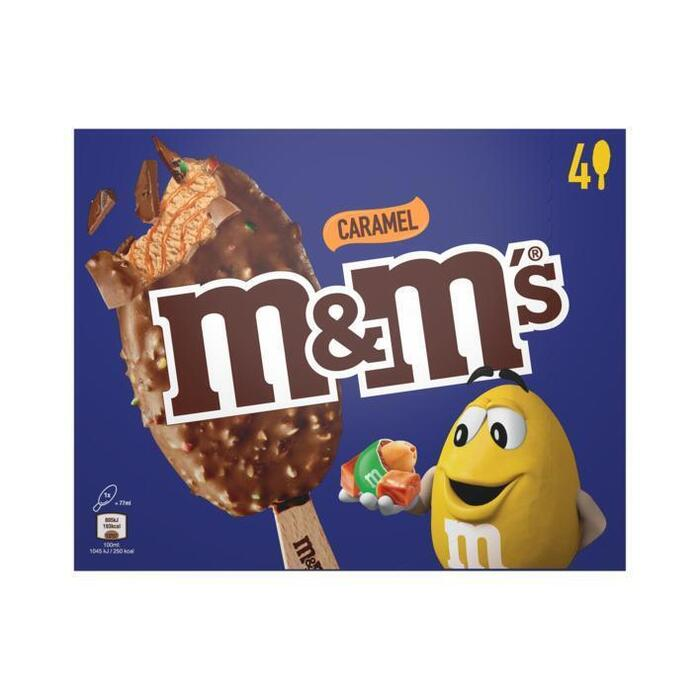 M&M's Caramel ijs (4 × 77ml)