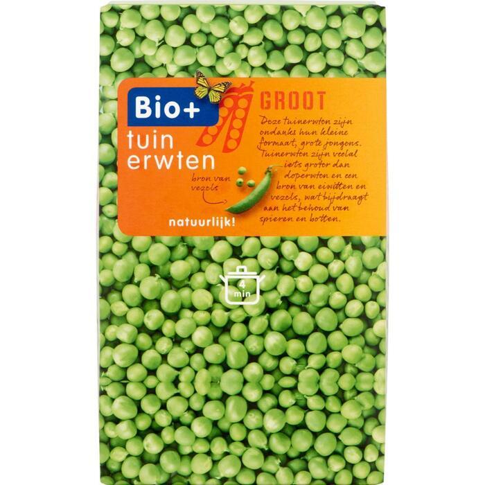 Bio+ Tuinerwtjes (450g)