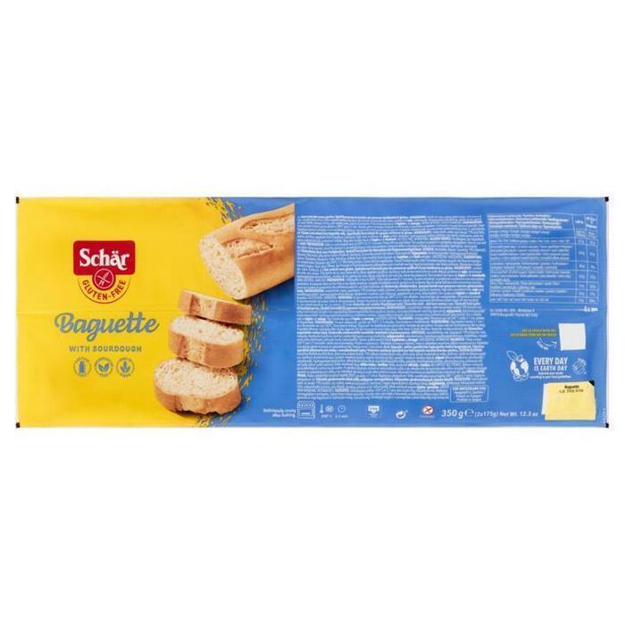 Schär Gluten Free Baguette 2 x 175 g (350g)