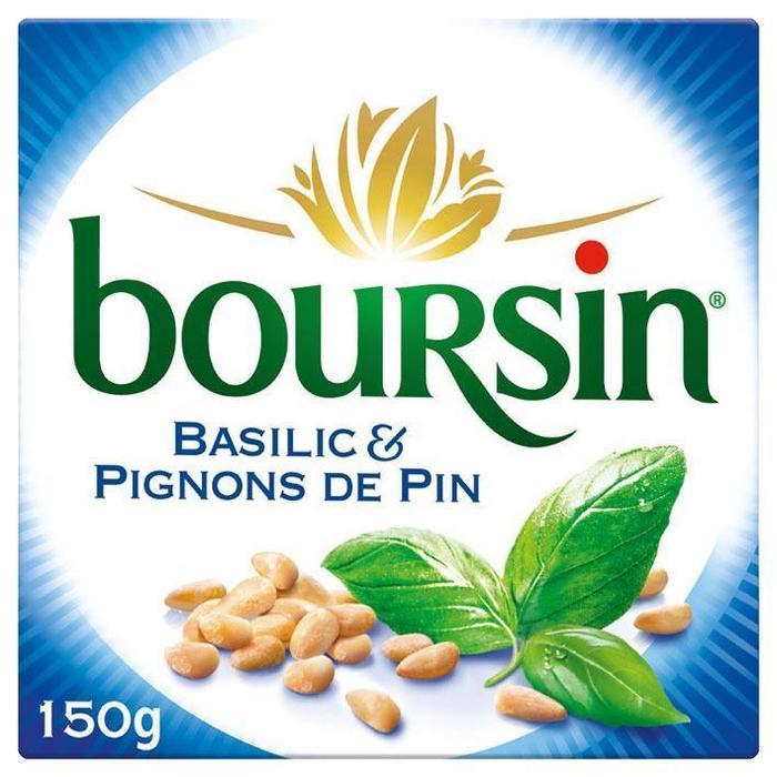 Boursin Basilicum / pijnboompitten (150g)