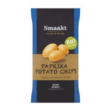 Paprika potato chips (zak, 125g)