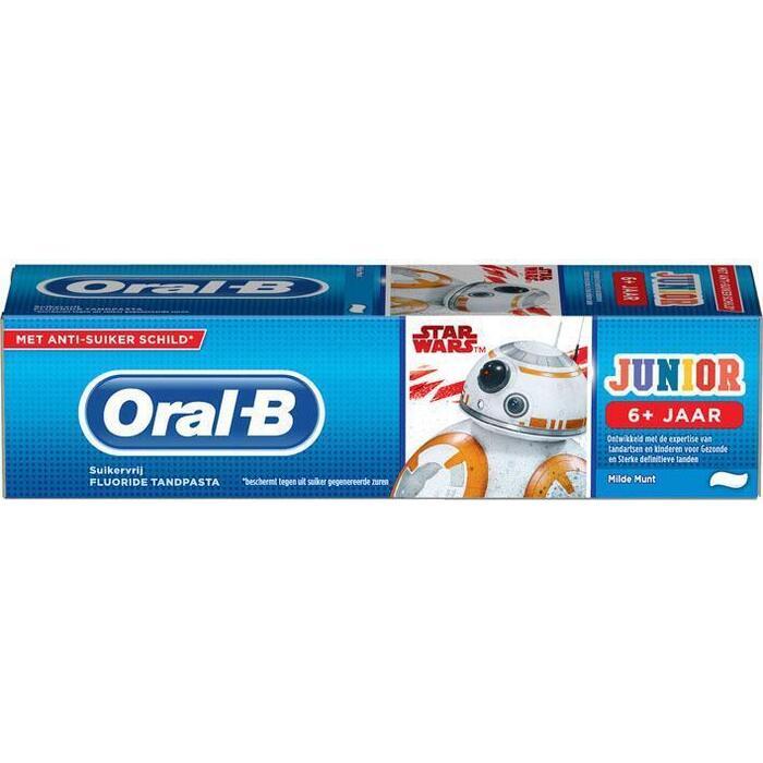 Oral-B Junior star wars tandpasta (75ml)
