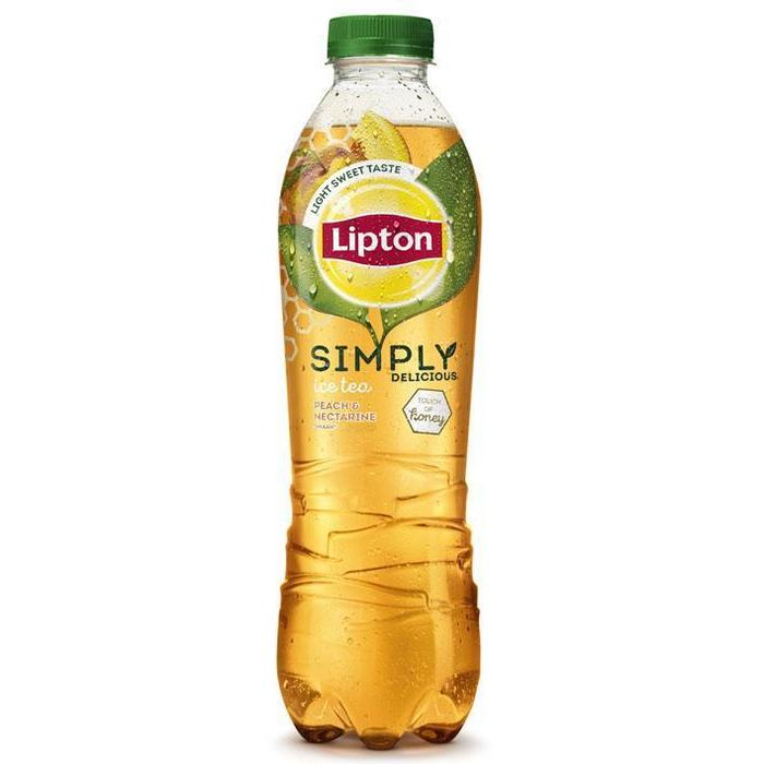 Lipton Ice tea simply honey peach nectarine (1L)