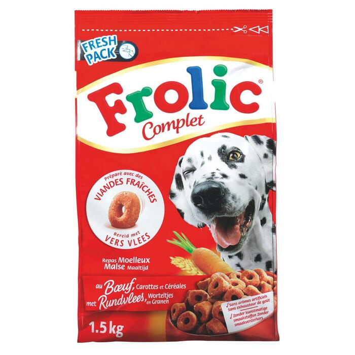 Frolic Brokjes met vlees (1.5kg)