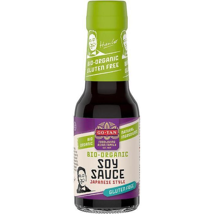 Go-Tan Soya sauce gluten free (145ml)