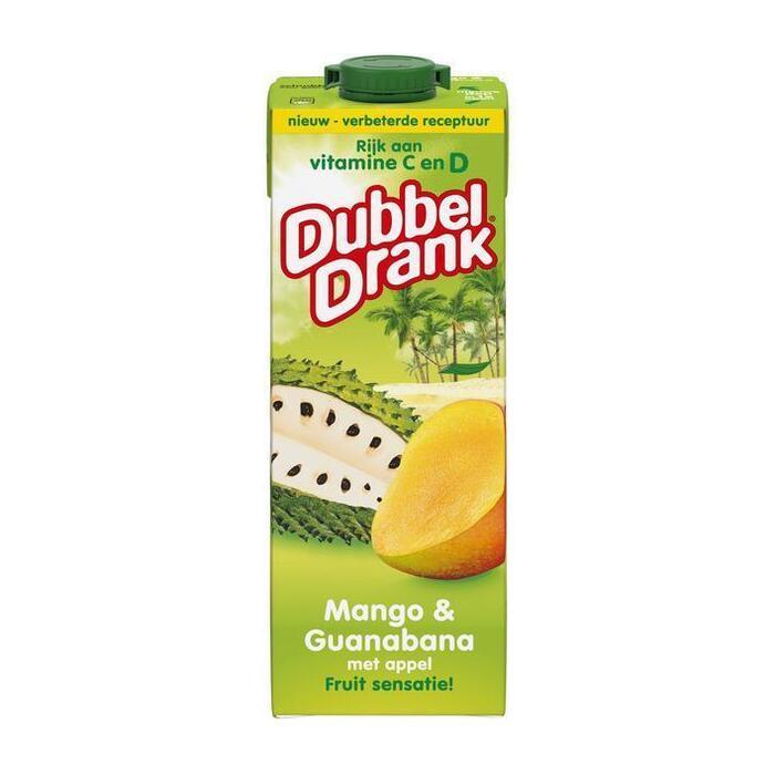DubbelDrank Mango & Guanabana 1 L (rol, 100 × 1L)