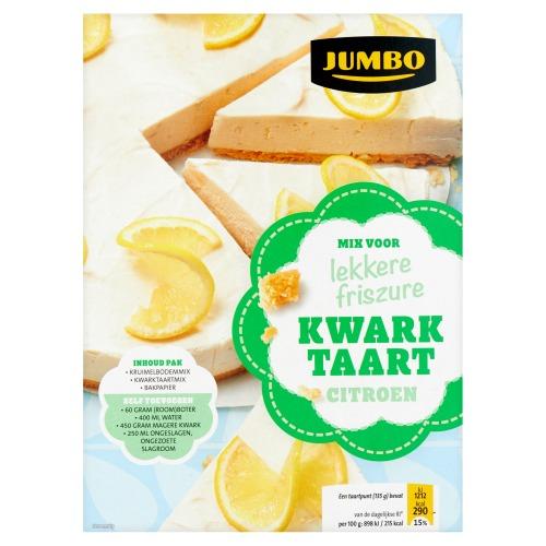 Jumbo Mix voor Lekkere Friszure Citroen Kwarktaart 440g (440g)