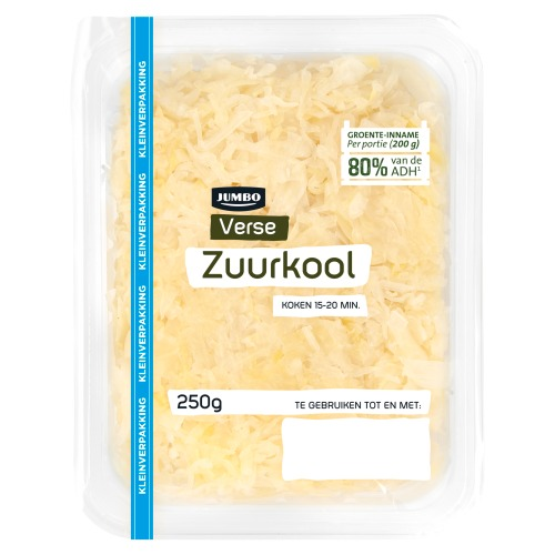 Jumbo Verse Zuurkool 250 g (250g)