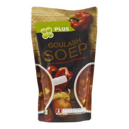 Fijn gekruide goulashsoep (zak, 0.57L)