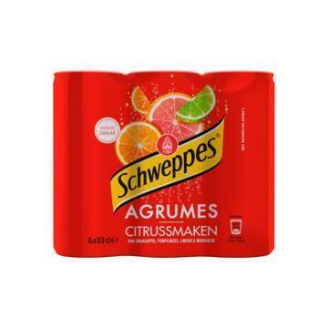 Schweppes Agrum (6 × 33cl)