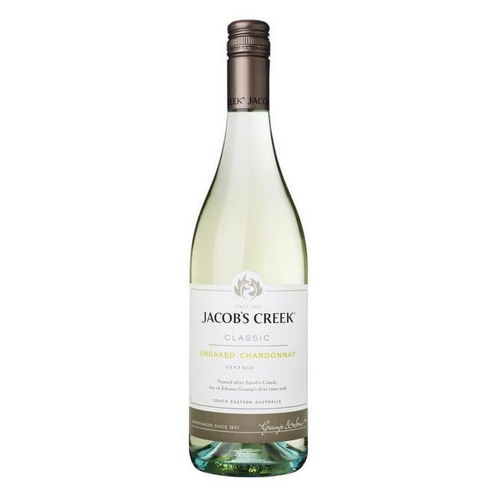 Jacob's Creek Unoaked Chardonnay (0.75L)