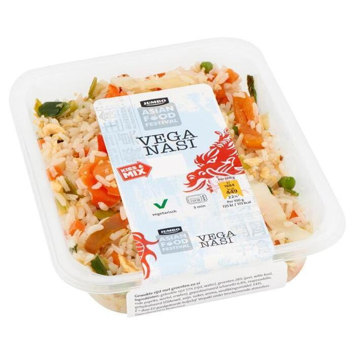 Jumbo Asian Food Festival Vega Nasi 260 g (260g)