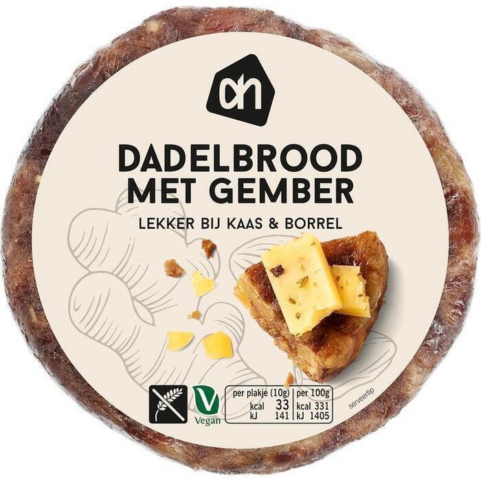 AH Dadel gember brood (200g)