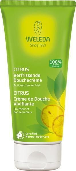 Citrus verfrissende douchecrème (200ml)