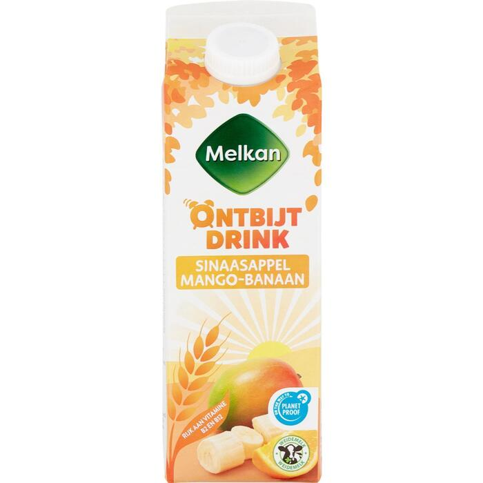 Drinkontbijt sinaasappel-mango-banaan (0.5L)