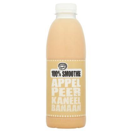 100% smoothie appel, peer, kaneel, banaan (0.75L)