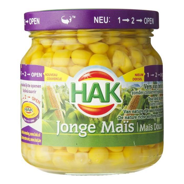 Jonge Maïs (pot, 200g)