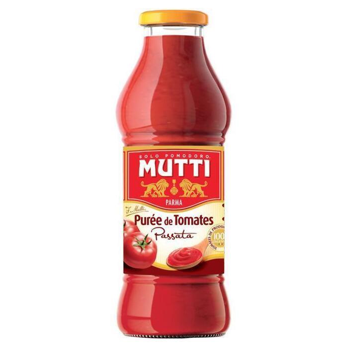 Mutti Passata gezeefde fluweelzachte tomaten (42.5cl)