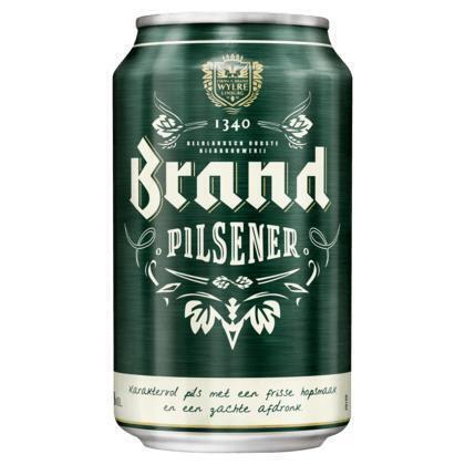 Brand Premium Pilsener (rol, 6 × 33cl)