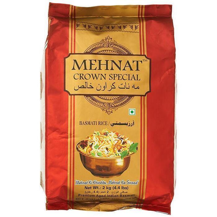 Mehnat Basmati rijst (2kg)