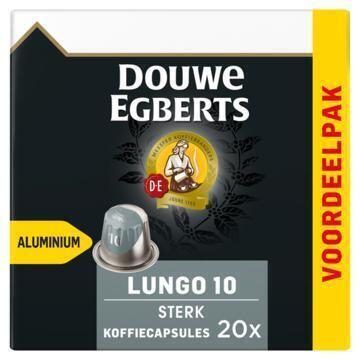DOUWE EGBERTS KOFFIE CAPSULES LUNGO EXTRA INTENS UTZ 104G 20ST BOX (104g)