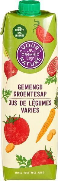 Gemengd groentesap (1L)