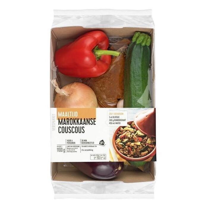 AH Marokkaanse couscous verspakket (bak, 1.1kg)