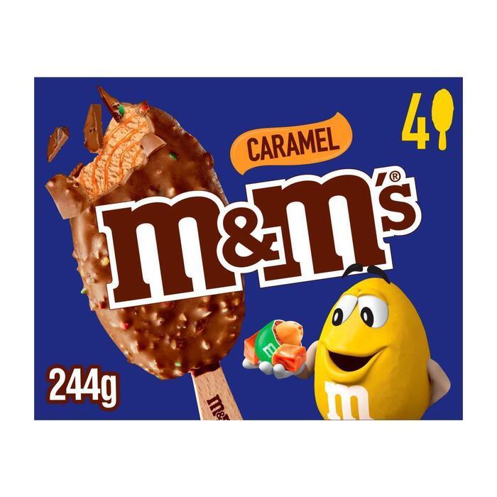 M&M's Caramel ijs (4 × 77ml)