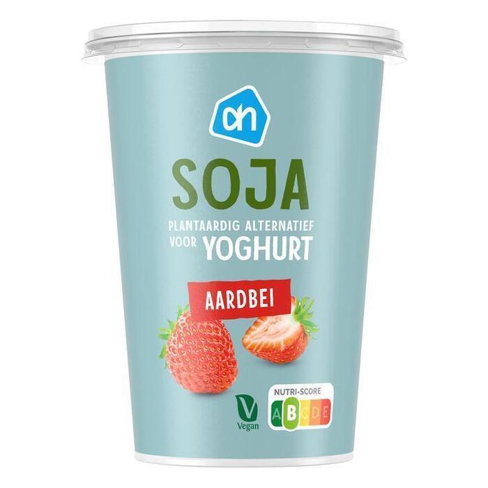 AH Soja yochurt aardbei (500g)