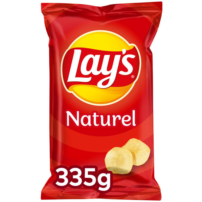 Naturel chips (Stuk, 335g)