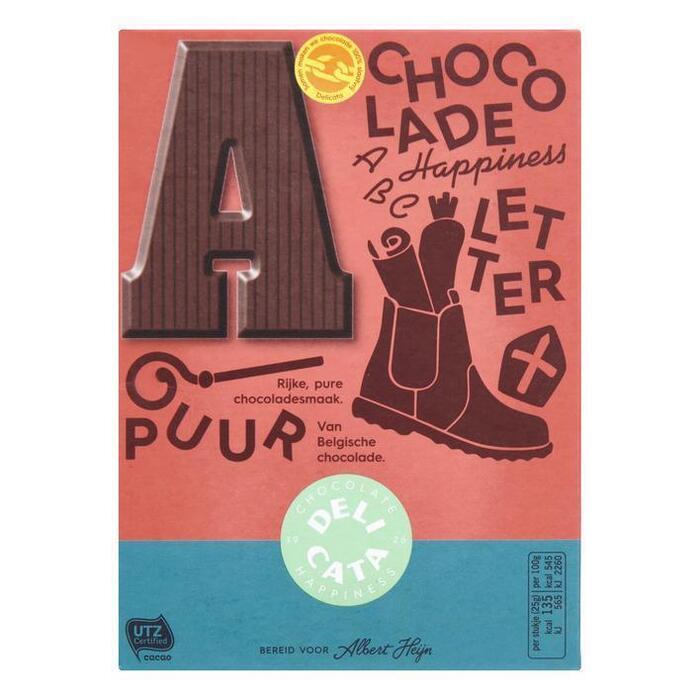 Chocoladeletter Puur (r, 100g)