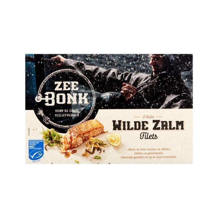 Zeebonk Wilde Zalm Filets 2 Stuks 250 g (250g)