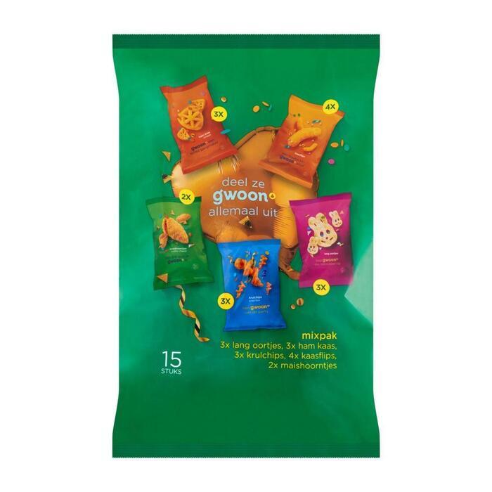g'woon Uitdeel snack mix