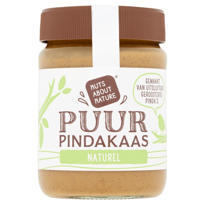 Nuts about Nature 100% pindakaas (350g)
