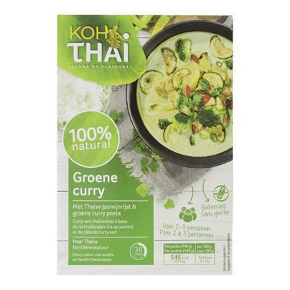 Koh Thai Groene curry maaltijdpakket (270g)