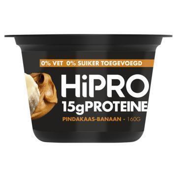 Hipro Skyr stijl pindakaas banaan (160g)